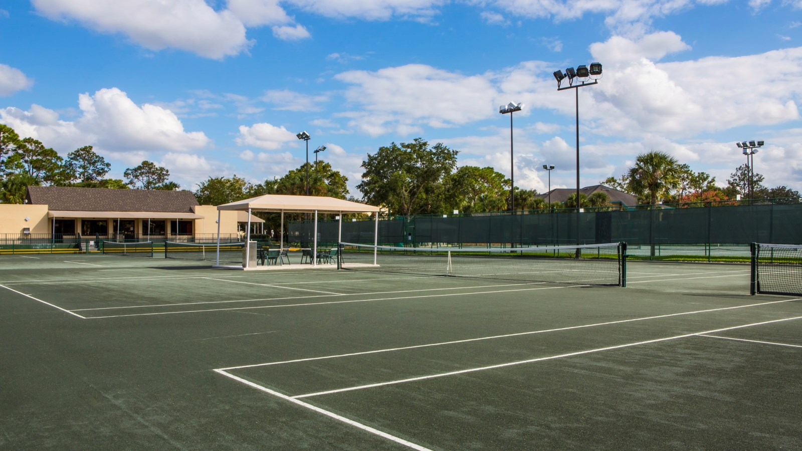Tennis Courts Sheraton Vistana Resort Villas, Lake Buena Vista, Orlando